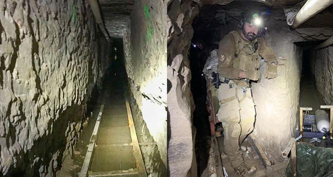 ABD-Meksika sınırında en uzun kaçakçılık tüneli bulundu