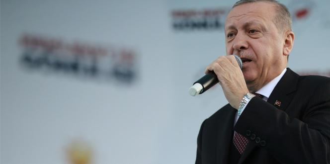 """Cumhurbaşkanı Erdoğan: """"Şovmenlerin maskesi düşmeye başladı"""""""
