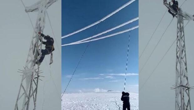 Enerji timlerinin, buz mesaisi