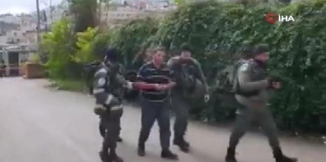 İsrail askerleri zihinsel engelli Filistinliyi gözaltına aldı