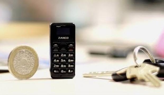 İşte dünyanın en küçük telefonu
