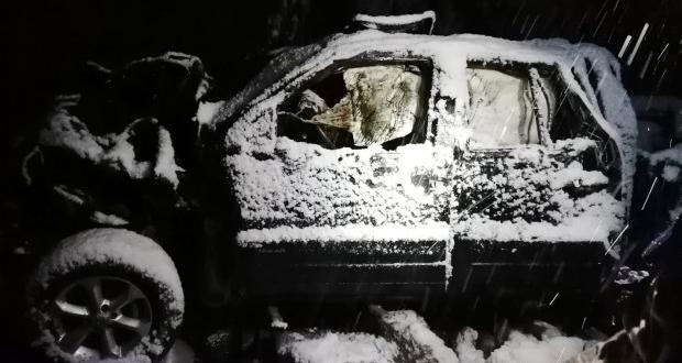 Otomobil uçuruma yuvarlandı: Karı-koca hayatını kaybetti