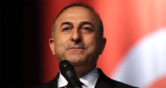 Bakan Çavuşoğlu, IKBY Başbakanı Barzani ile görüştü