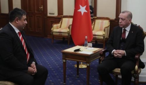Cumhurbaşkanı Erdoğan, Ahıska ve Gagavuz Türklerini kabul etti