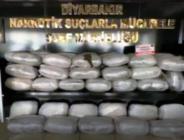 Diyarbakır'da yılbaşından bu yana 1 tondan fazla uyuşturucu ele geçti