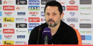 """Erol Bulut: """"Ufak bir hatadan yediğimiz bir gol oldu"""""""