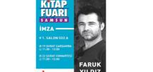 Faruk Yıldız yeni kitabıyla Karadeniz Kitap Fuarında