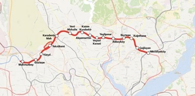 Mecidiyeköy-Mahmutbey metrosunun hizmete gireceği tarih açıklandı