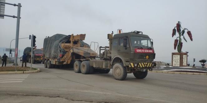 Sınır birliklerine tank sevkiyatı!