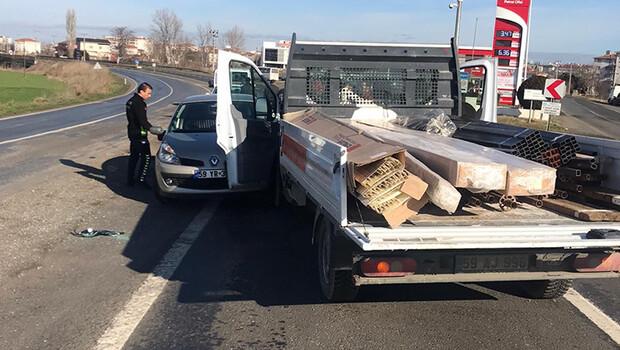Son dakika haberler: Tekirdağ'da trafik kazası: 5 yaralı