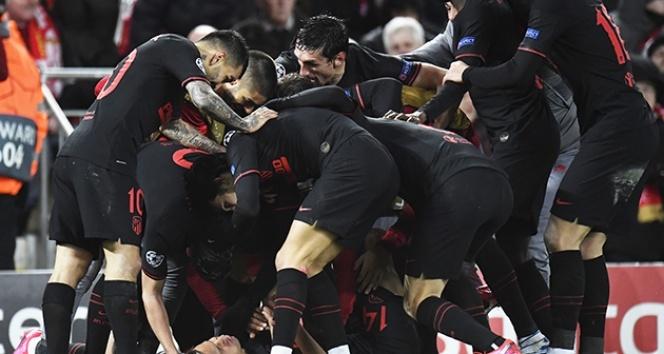 Atletico Madrid, son şampiyonu eledi