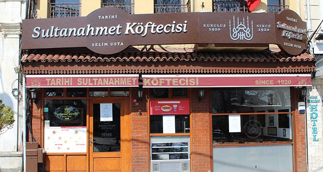 Sultanahmet Köftecisi tarihinde ilk kez kapandı