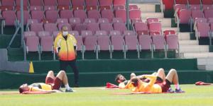 Galatasaray, Fatih Terim yönetiminde ilk kez çalıştı