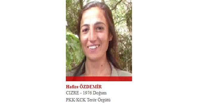 Kırmızı listedeki kadın terörist, kanserden ölmüş