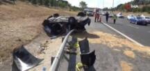 TEM otoyolunda kaza: 1 ölü, 3 yaralı