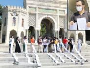 Hukuk öğrencilerinden 'zor sınav' protestosu