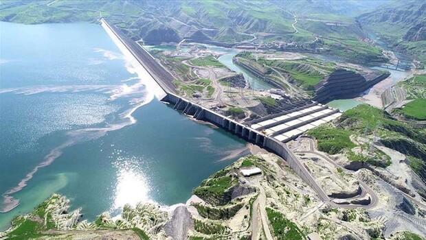 Ilısu Barajı'ndan ekonomiye 3 ayda 375 milyon lira katkı