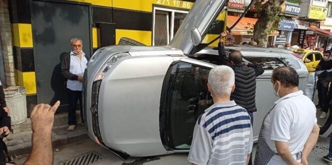Sakarya'da akıllara durgunluk getiren kaza