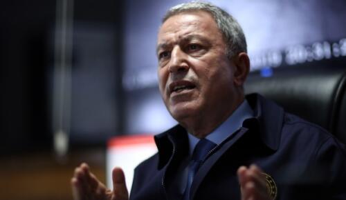 Milli Savunma Bakanı Akar: 'Kıbrıs, Türkiye'nin milli bir meselesidir'