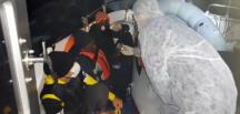 16 düzensiz göçmen kurtarıldı