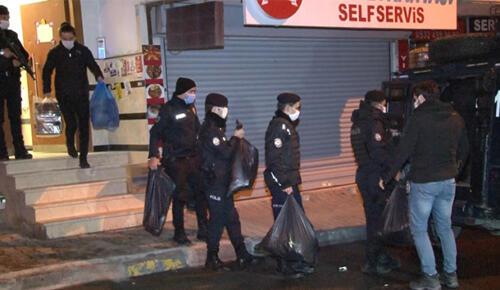 Esenyurt HDP ilçe binasına yapılan operasyon 6 saatlik arama sonrası sona erdi