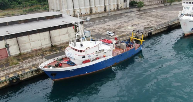 ODTÜ araştırma gemisi Bilim-2, Marmara Denizi'nde