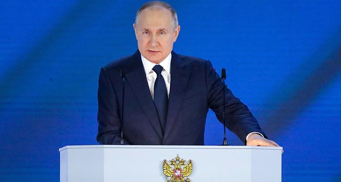 Putin: 'Kuzey Akım 2'nin ilk etabında döşeme işlemi tamamlandı'