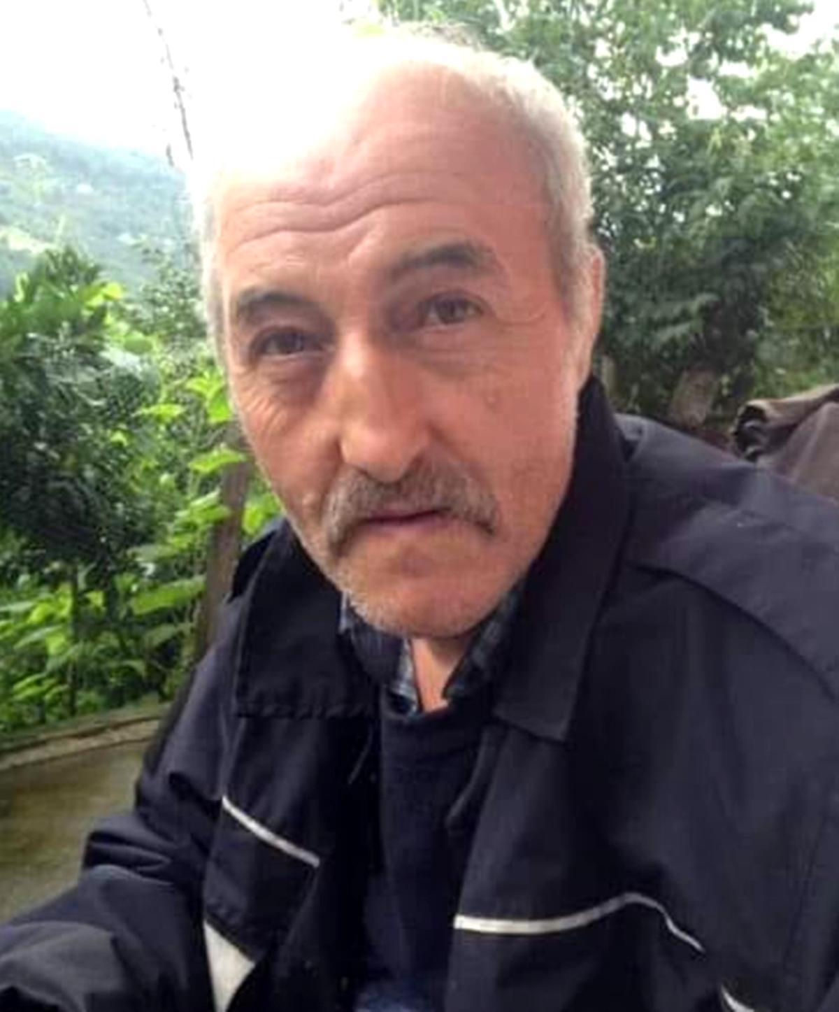 Trabzon da yamaçtan dereye düşen şahıs hayatını kaybetti