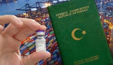 Yeşil pasaportlu ihracatçıya aşı önceliği