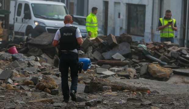 Belçika'yı 10 gün sonra yine sel vurdu