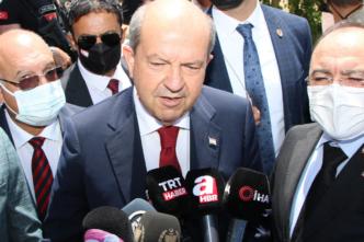 KKTC Cumhurbaşkanı Tatar: 'Kıbrıs'ın tümünün AB'ye alınması bir bakıma Türkiye ile bağlarımızın koparılmasıdır'