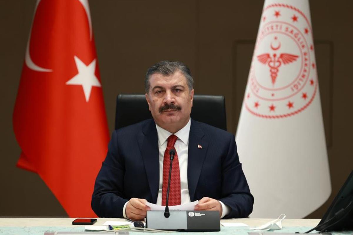 Sağlık Bakanı Koca: 'Son 10 günde yapılan aşı sayısı 8 milyon dozu geçti'